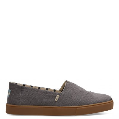 Shade Grey Heritage Canvas Cupsole Alpargata M