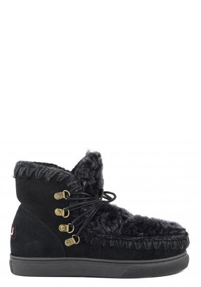 sneaker laces & front fur