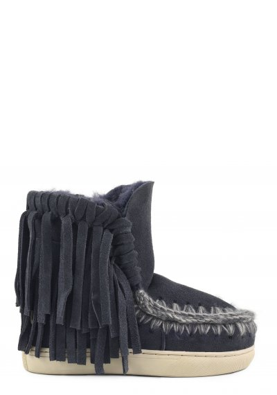 mini eskimo sneaker kid fringes