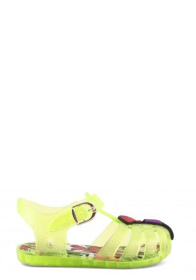 Sandali in pvc con accessorio tucano